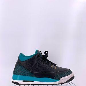 Nike Air Jordan 3 Retro Jaguars Kids Size 5y